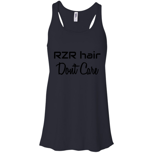 RZR Hair Don't Care Flowy Racerback Tank