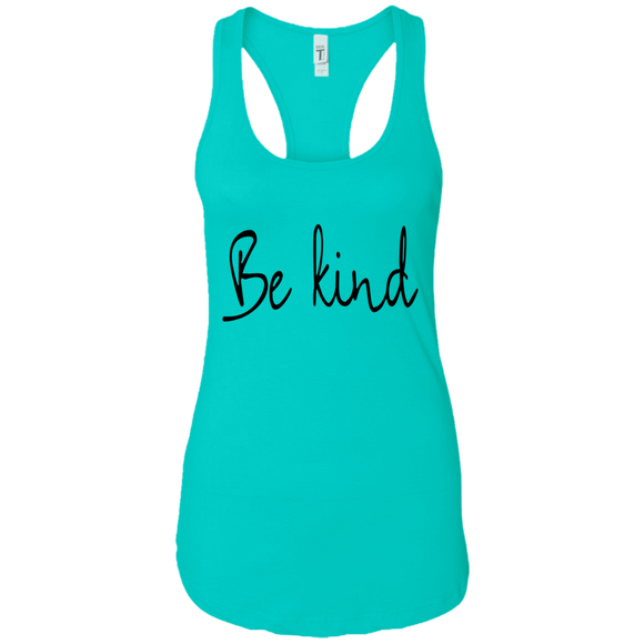 Be Kind Ladies Ideal Racerback Tank