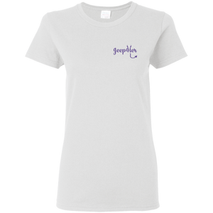 JeepHer Devil Women's fit Tshirt- Purple