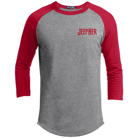 JeepHer Youth Sporty T-Shirt- Red