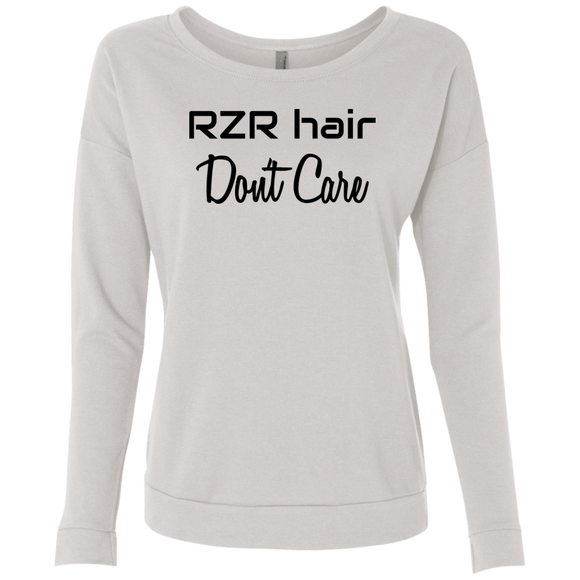RZR Hair Don't Care Ladies' French Terry Scoop