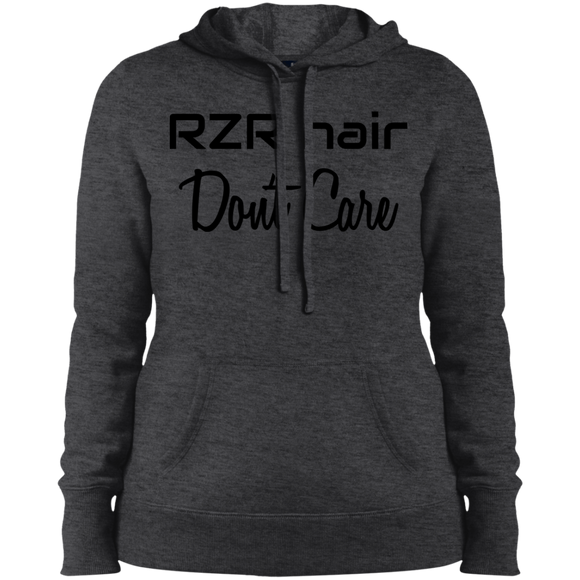 RZR Hair Don't Care Ladies' Pullover Hooded Sweatshirt