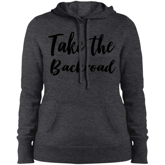Take The Backroad Ladies' Pullover Hooded Sweatshirt