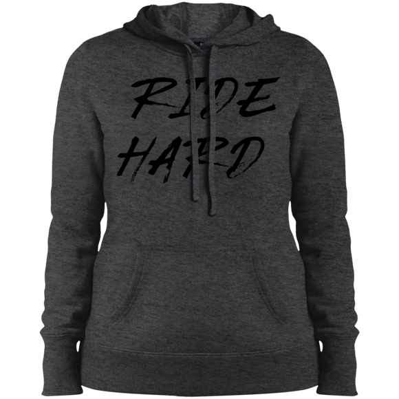 Ride Hard Ladies' Pullover Hooded Sweatshirt