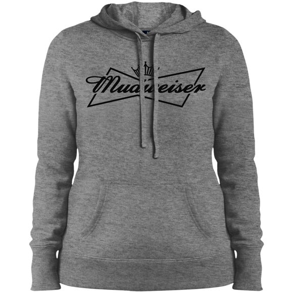 Mudweiser Ladies' Pullover Hooded Sweatshirt