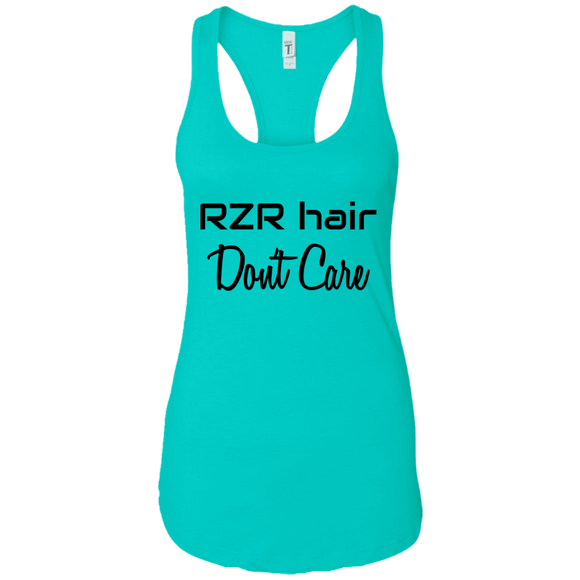 RZR Hair Don't Care Ladies Ideal Racerback Tank
