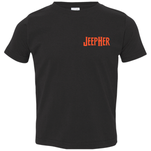 Toddler Hard Rock JeepHer Jersey T-Shirt- Orage