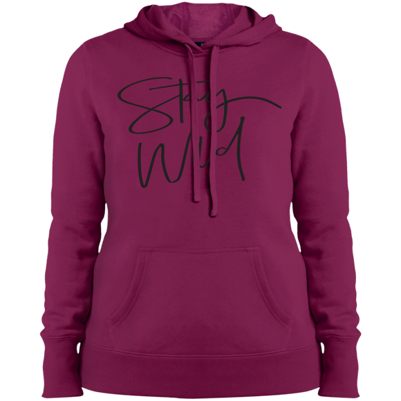 Stay Wild Ladies' Pullover Hooded Sweatshirt
