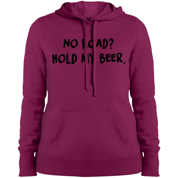 No Road Ladies' Pullover Hooded Sweatshirt