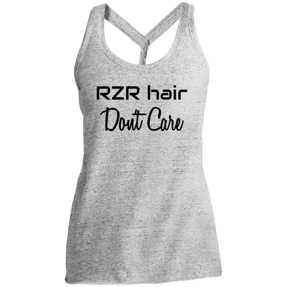 RZR Hair Don't Care Twist Back Tank