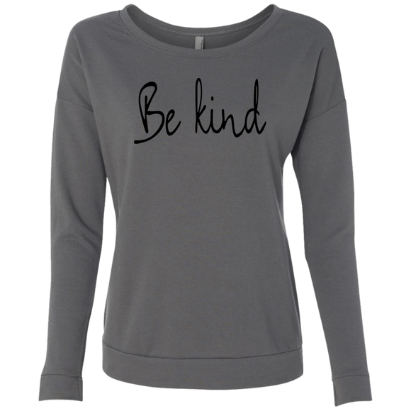 Be Kind Ladies' French Terry Scoop