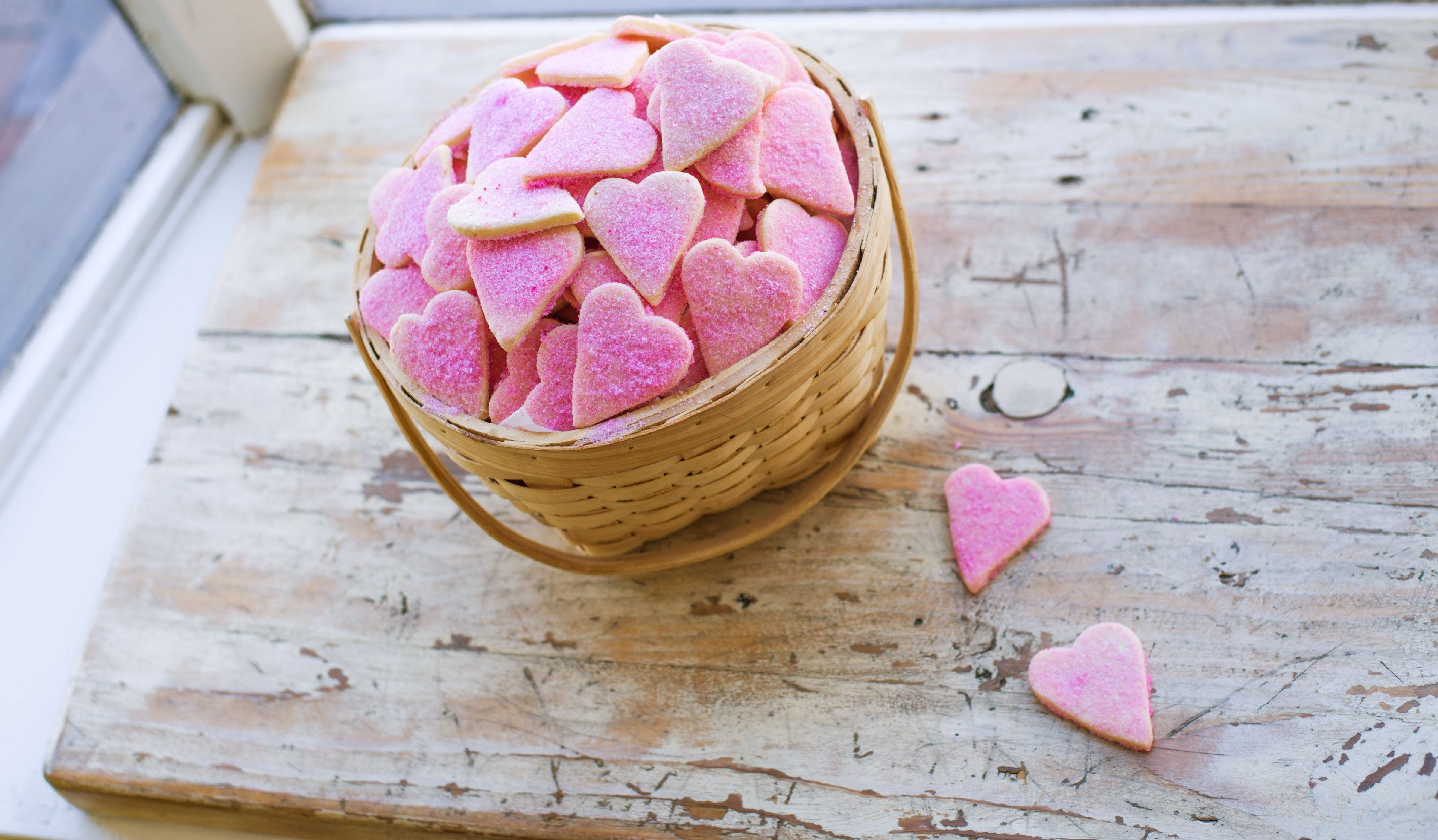 Valentines Heart Shaped Butter Cookies