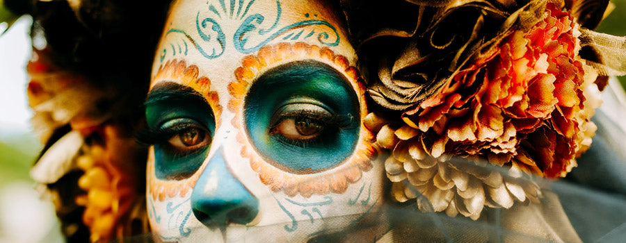la catrina llorena day of the dead face paint
