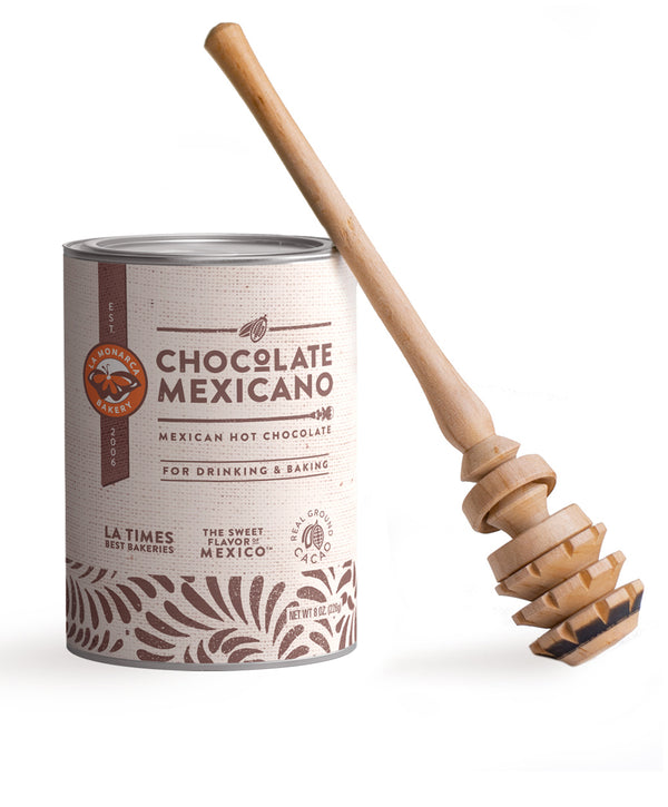 Mexican Hot Chocolate & Molinillo Bundle