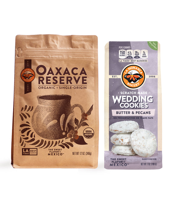 Organic Oaxaca Reserve Coffee & Cookie Combo