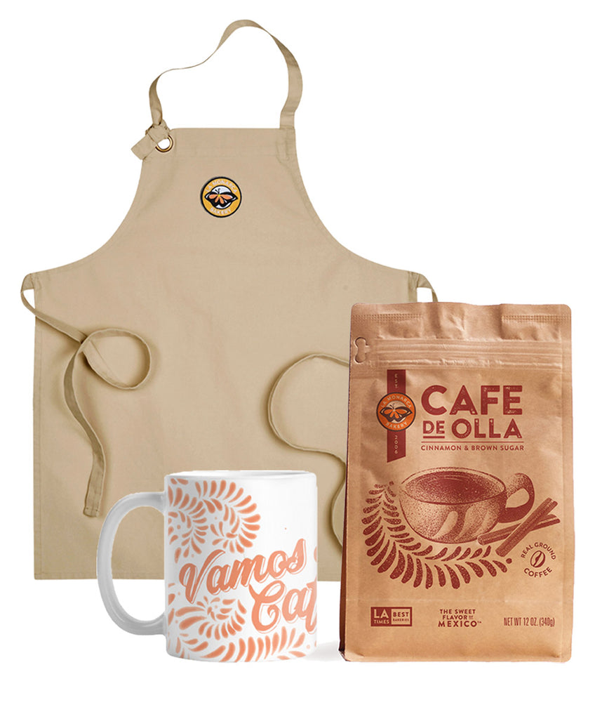 Apron Cafe de Olla Set