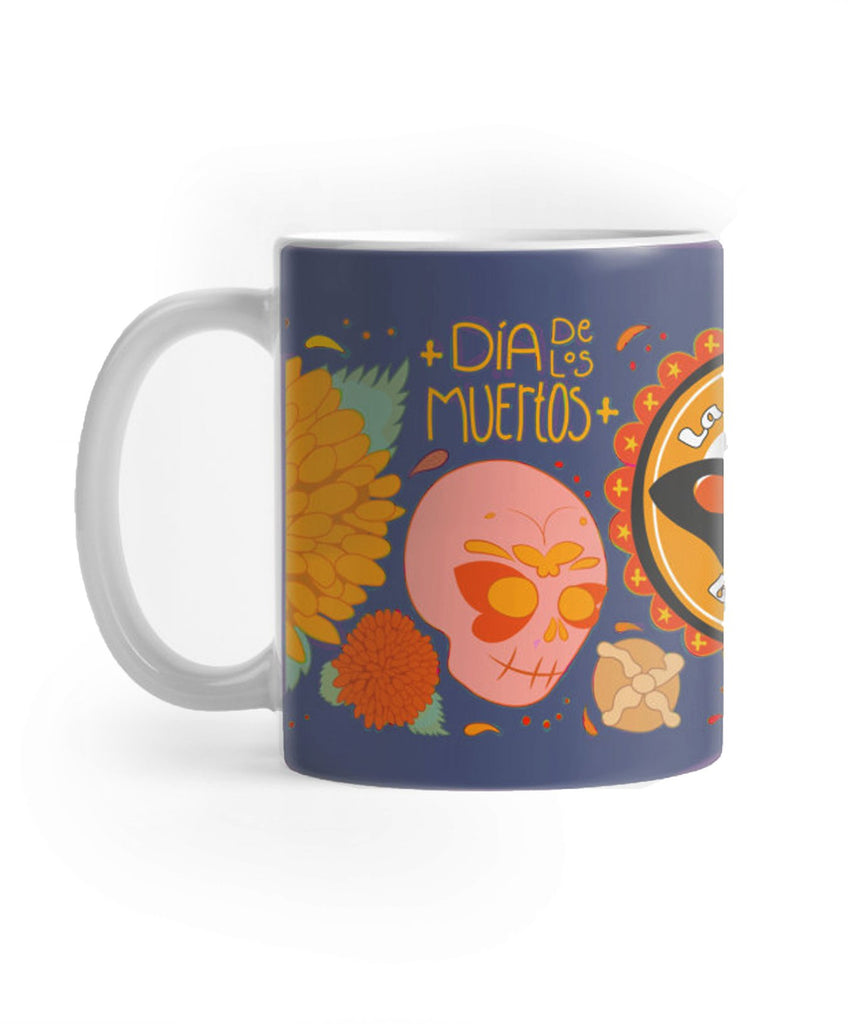 Organic Oaxaca Reserve & Day of the Dead Ceramic Mug Combo