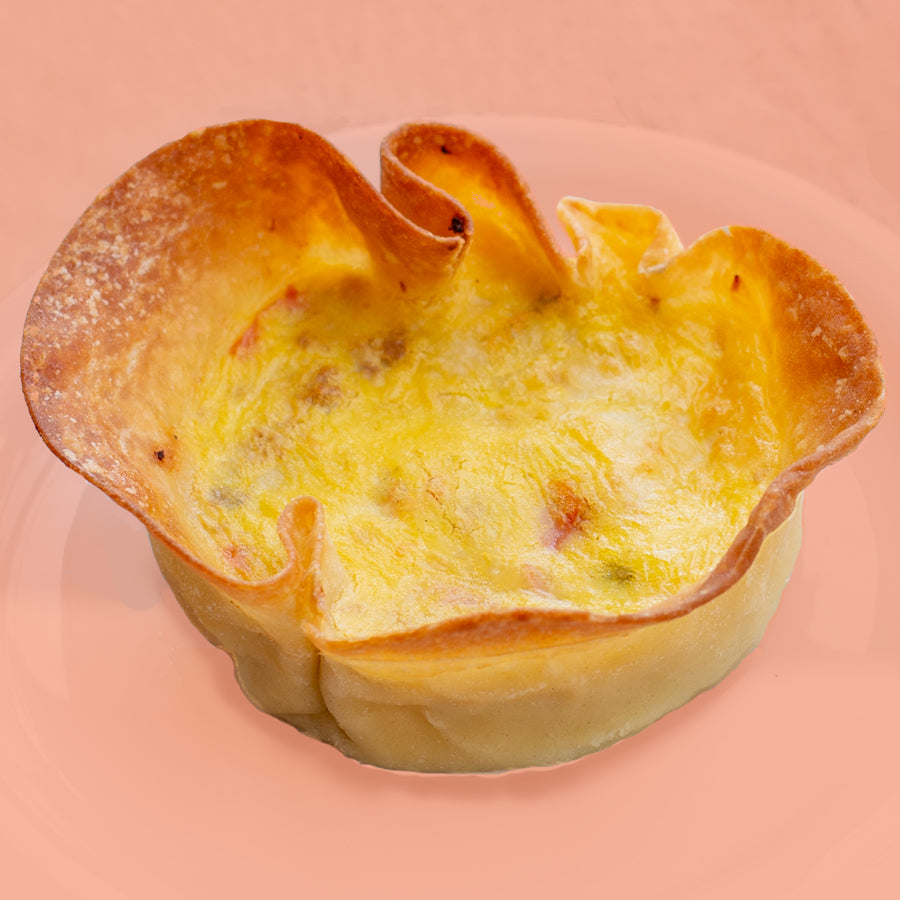 Personal Quiche with Crust