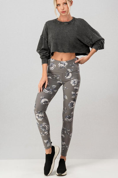Cute & Casual Crop Top: Black