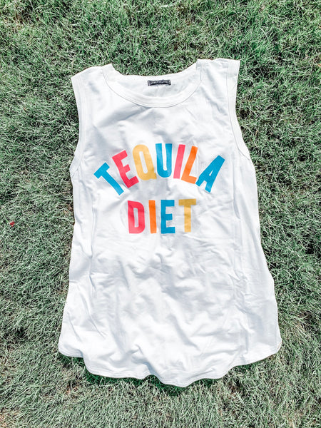 Tequila Diet Tank: Ivory