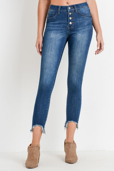 It's Fall Y'all Jeans: Dark Wash Denim