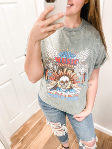 American Music Festival Tee: Green