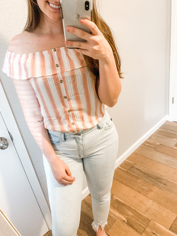 Sweet Summertime Top: Papaya