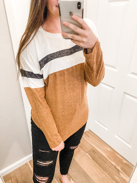 Autumn Nights Top: Cinnamon