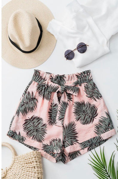 Vacation Season Shorts: Peach