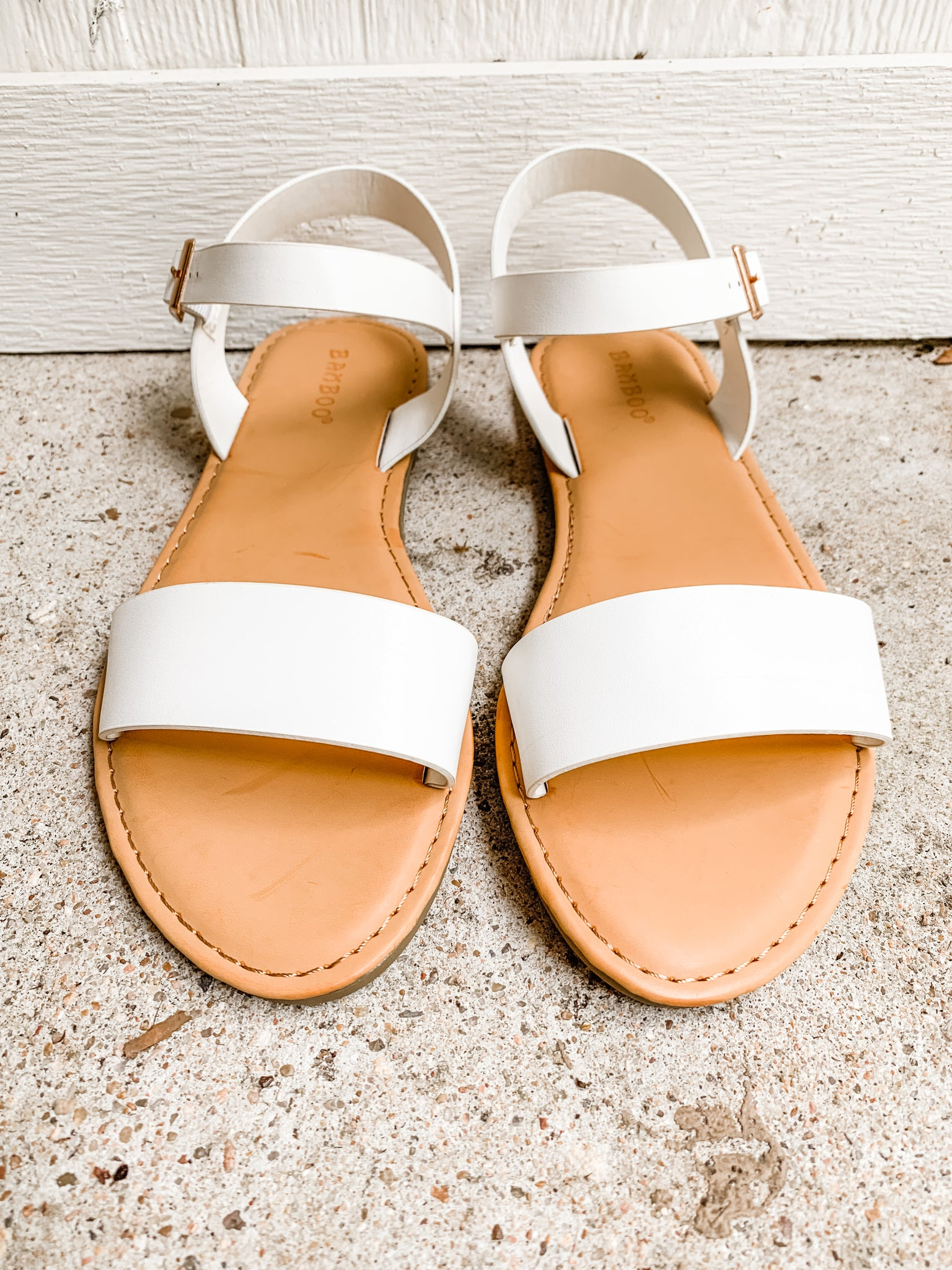 Catch The Ocean Sandals: White