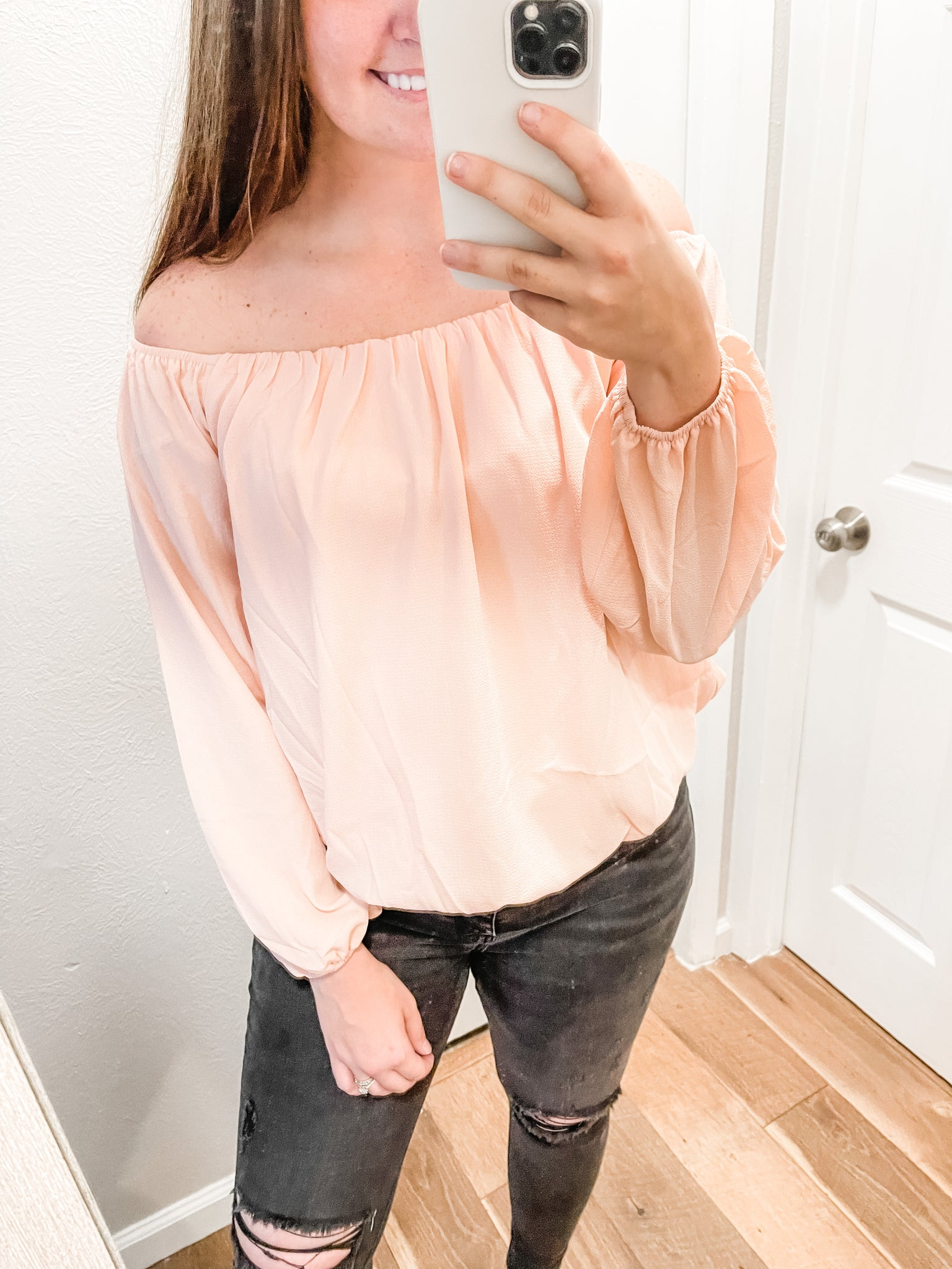 Truly Yours Top: Rose