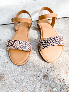 Catch The Ocean Sandals: Cheetah