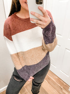 Winter Nights Sweater: Vintage Mocha