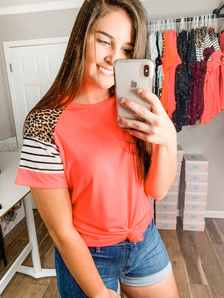 Sweet Talker Top: Neon Pink