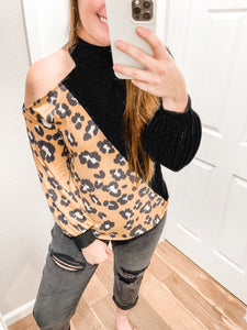 Sweet But Sassy Top: Black