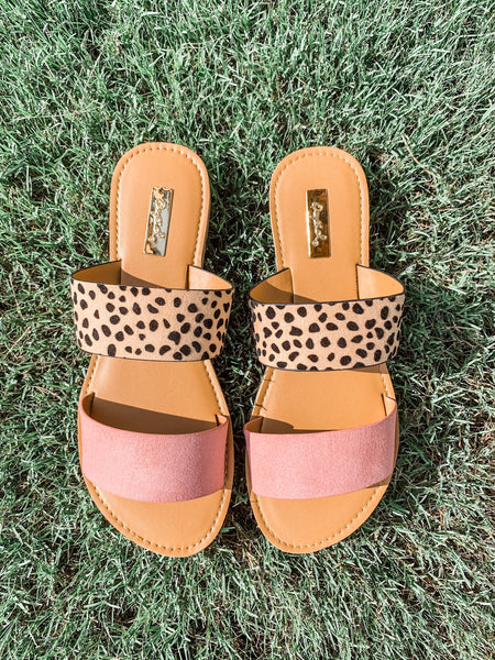Island Hopping Sandals: Ash Rose