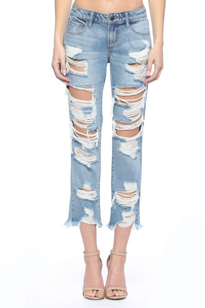 Hit The Town Jeans: Denim