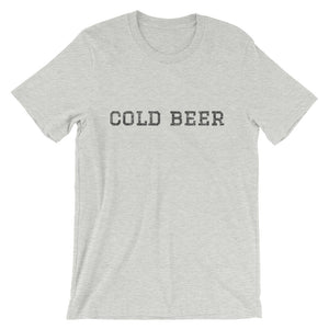 Cold Beer Short-Sleeve Unisex T-Shirt