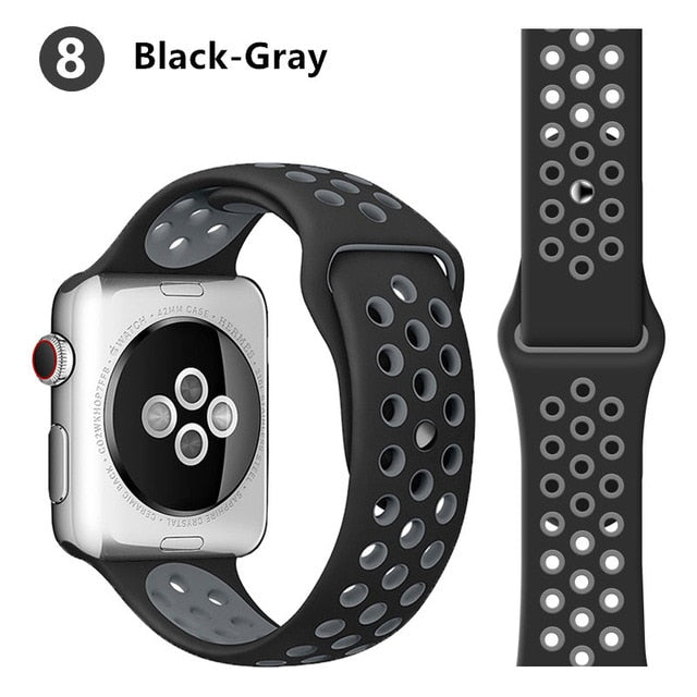 Silicone Sport Band for Apple Watch
