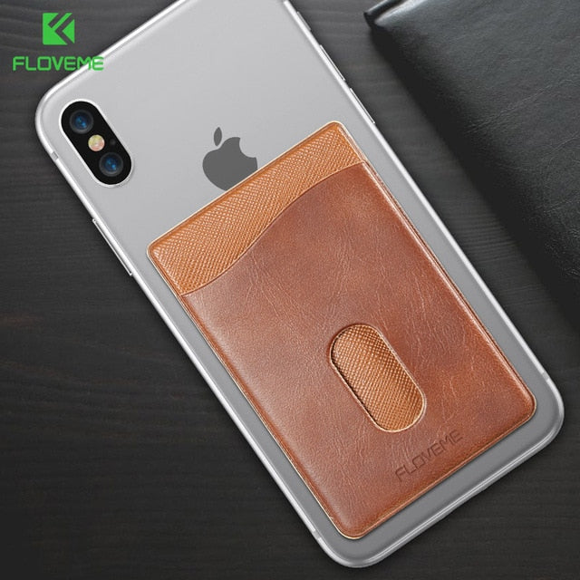 Smartphone Leather Look Card Holder