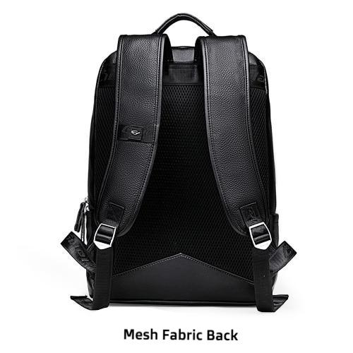 Leather Business Backpack