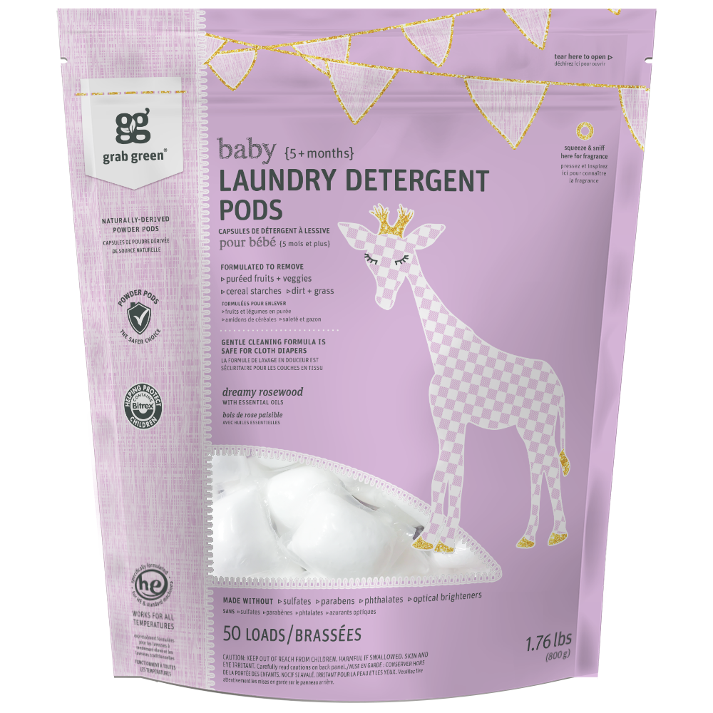 Baby Laundry Detergent Pods