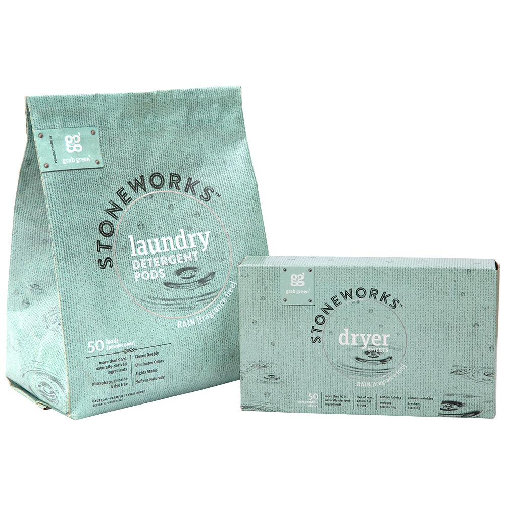 Stoneworks Laundry and Dryer Sheet Kit