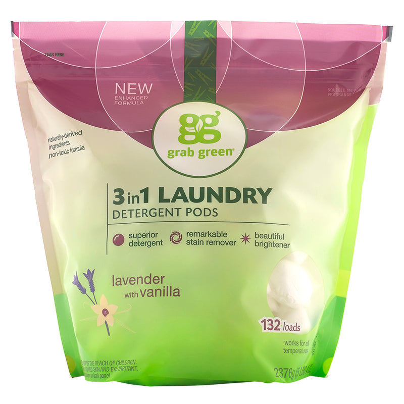 Classic 3-in-1 Laundry Detergent Pods—Lavender+Vanilla