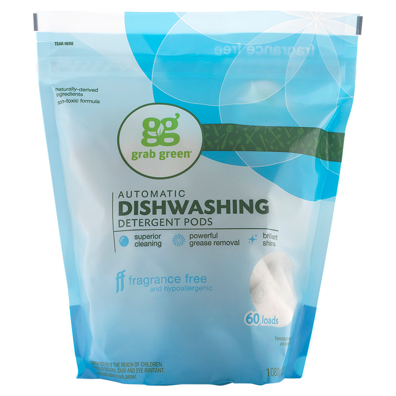 Classic Automatic Dishwashing Detergent Pods—Fragrance Free