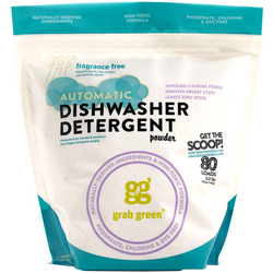 Contemporary Automatic Dishwasher Detergent Powder—Fragrance Free