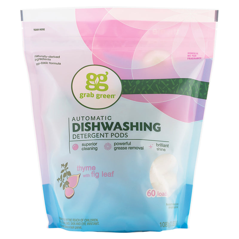 Classic Automatic Dishwashing Detergent Pods—Thyme+Fig Leaf