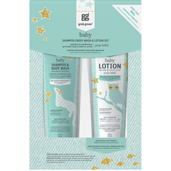 Baby Shampoo/Body Wash + Lotion Gift Set—Calming Chamomile