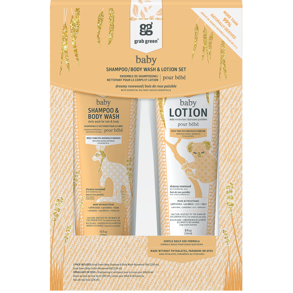 Baby Wash + Baby Lotion Gift Set