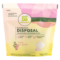 Classic Garbage Disposal Freshener & Cleaner Pods—Thyme+Fig Leaf